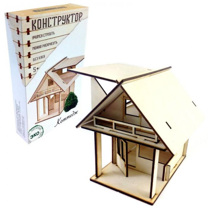 Конструкторы Model Toys Деревянный Коттедж Dom 3 куплю дом или коттедж в солотче