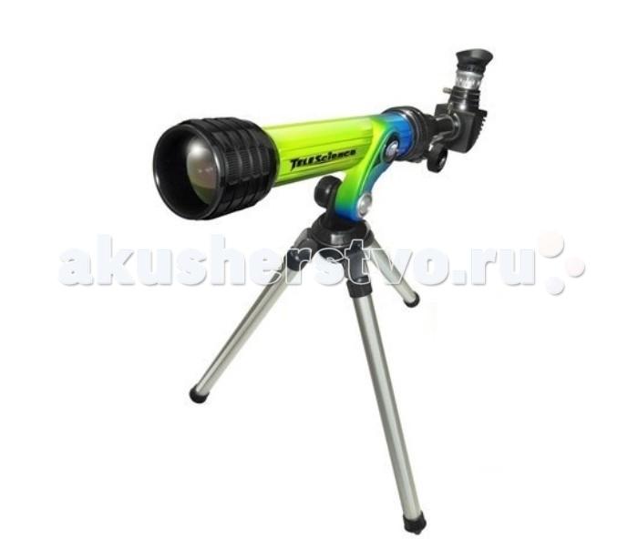 Eastcolight Телескоп HD на штативеТелескоп HD на штативеEastcolight Телескоп HD на штативе  Функциональный детский телескоп, который позволит детям наблюдать за планетами Солнечной системы и звёздами! Телескоп поставляется вместе со штативом, диаметр объектива 30 мм, фокусное расстояние 400 мм, диаметр окуляров 20 и 4 мм соответственно.  Возраст: от 8 лет Комплект: телескоп, диагональное зеркало.<br>