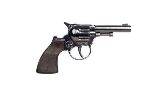 Игрушечное оружие Gonher Игрушечное оружие Ковбойский мини-револьвер игрушечное оружие jja дротики с мелом для wipe out 3 шт