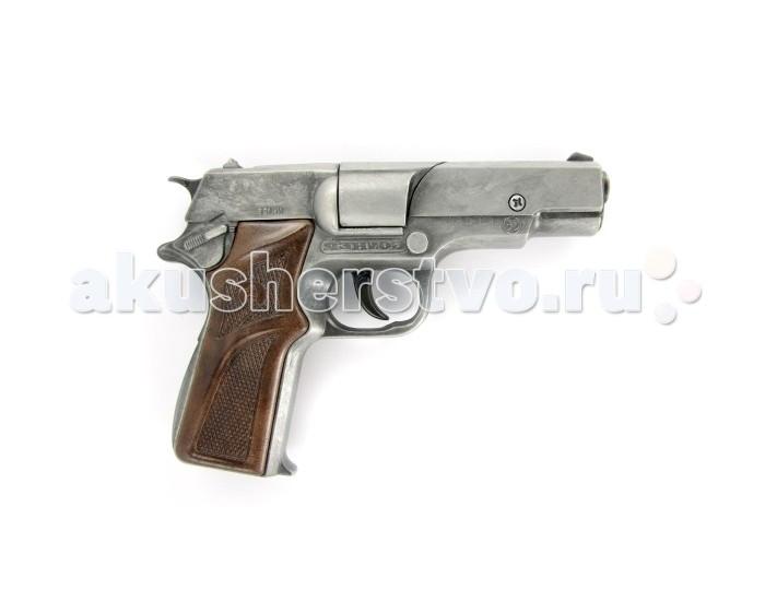 Игрушечное оружие Gonher Игрушечное оружие Полицейский пистолет на 8 пистонов игрушечное оружие gonher игрушка розовый пистолет 180 2f