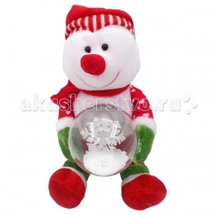 Интерактивная игрушка LAPA House  Снеговик со снежным шаром 24 смСнеговик со снежным шаром 24 смИнтерактивная игрушка LAPA House Снеговик со снежным шаром 24 см украсит Ваш праздник! Игрушка озвученная, двигается.  Особенности: Он обязательно подарит ощущение праздника и радости!  Игрушка выполнена из высококачественных разнофактурных тканей и искусственного меха.  Работает от элементов питания, батарейки в комплект не входят.<br>