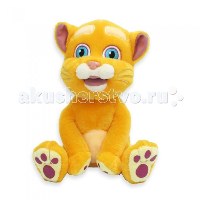 Интерактивная игрушка LAPA House  Кот 24743Кот 24743Интерактивная игрушка LAPA House Кот рассказывает шутки, поет песни, реагирует на прикосновения, распознает голос и отвечает на вопросы.  Особенности: Он знает много шуток, поет песенки и много болтает.  Кроме этого, у игрушки есть функция повторения - зверек распознает слова и фразы и воспроизводит их своим смешным голосом.  У кота рыжая мягкая шерстка, розовый нос и выразительные глаза.  Когда кот разговаривает, у него реалистично двигается рот.  Такая игрушка вызовет восторг у ребенка и доставит ему массу положительных эмоций. Работает от элементов питания, батарейки в комплект не входят.<br>