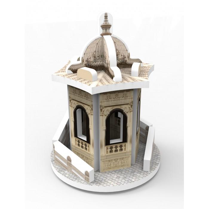 Пазлы IQ 3D пазл Восточный стиль Беседка пазлы iq 3d пазл спасская башня кремля