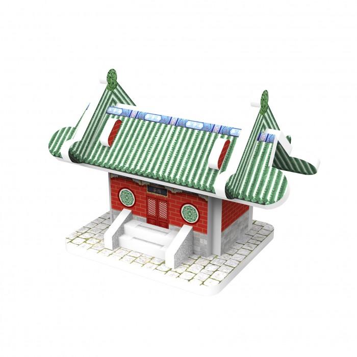 Пазлы IQ 3D пазл Восточный стиль Чайный домик пазлы iq 3d пазл пизанская башня
