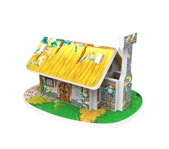 Пазлы IQ 3D пазл Голландская деревня Дом с трубой пазлы iq 3d пазл пизанская башня