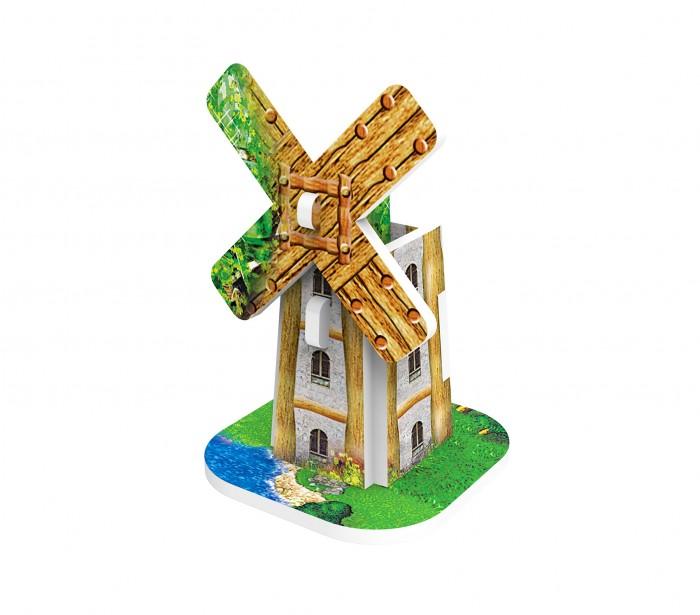 Пазлы IQ 3D пазл Голландская деревня Мельница пазлы iq 3d пазл спасская башня кремля