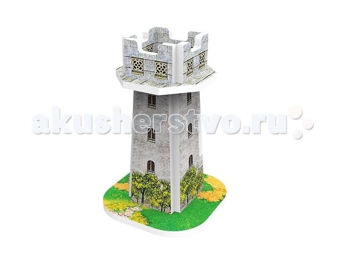 Пазлы IQ 3D пазл Голландская деревня Средневековая башня пазлы magic pazle объемный 3d пазл эйфелева башня 78x38x35 см