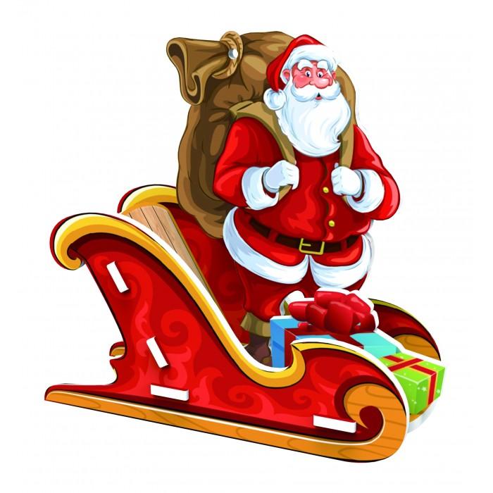 Пазлы Educa 3D пазл Дед Мороз