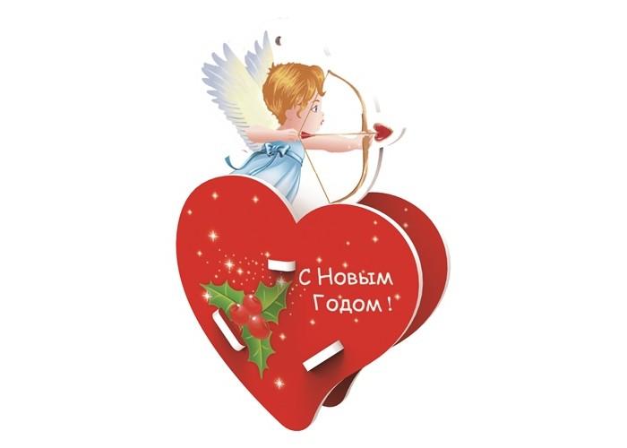 Пазлы Educa 3D пазл Сердце с купидоном