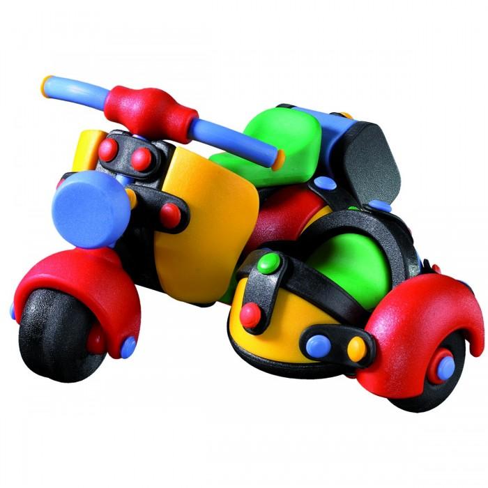 Конструкторы Mic-o-mic Конструктор Мотоцикл трёхколёсный mic o mic конструктор автомобиль гоночный малый