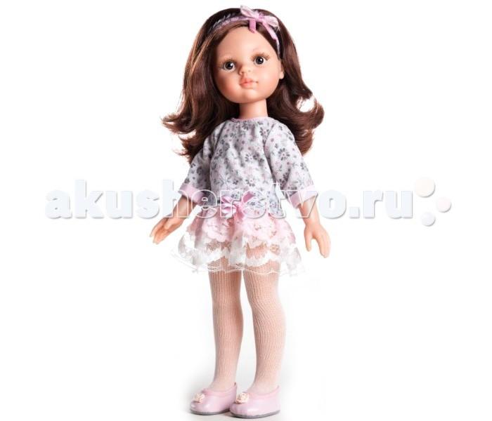 Куклы и одежда для кукол Paola Reina Кукла Кэрол 32 см paola reina кукла кэрол школьница 32 см paola reina