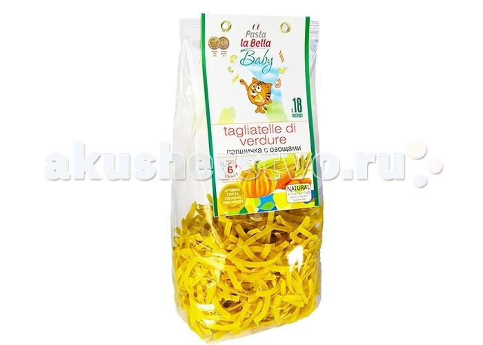 Макароны Pasta la Bella Baby Макароны Лапшичка с овощами 250 г casa rinaldi паста пенне без глютена из кукурузной и рисовой муки 500 г