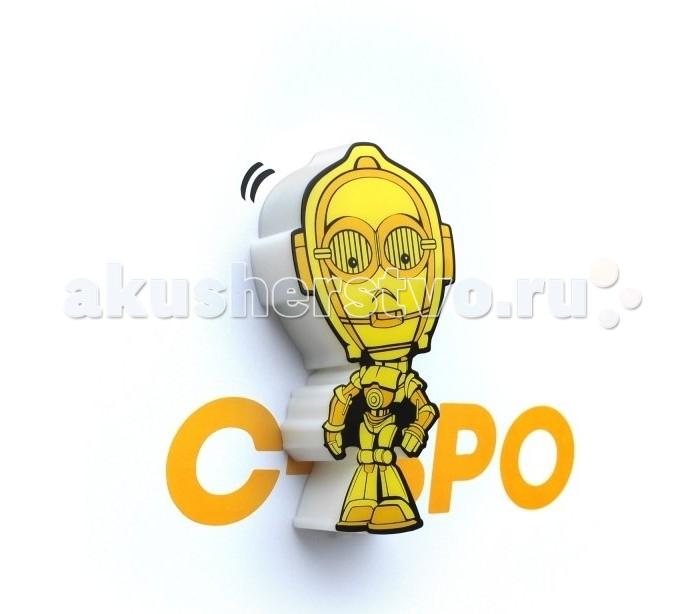Светильники 3DlightFX Пробивной мини 3D StarWars (Звёздные Войны) C-3PO (Золотник, Си-Трипио) starwars мягкая игрушка c 3po