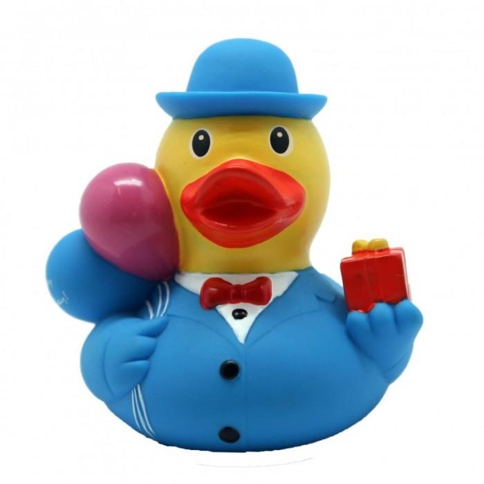 Игрушки для ванны LiLaLu Уточка резиновая Клоун с шариками уточка резиновая белая в поцелуях