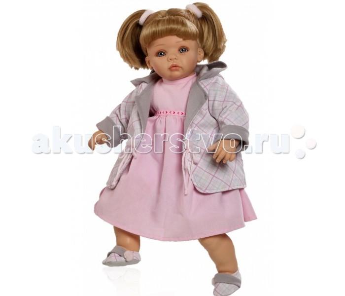 Paola Reina Кукла Рохио 50 смКукла Рохио 50 смКукла Paola Reina Рохио с мягконабивным телом   Особенности:   Уникальный и неповторимый дизайн лица и тела.  Глазки закрываются.  Наряд игрушки и аксессуары можно при необходимости постирать, и они останутся такими же яркими и привлекательными.  Тело куклы выполнено из приятного на ощупь высококачественного винила, который имеет лёгкий аромат ванили.  Материалы, из которых изготовлена игрушка, прошли все необходимые сертификации и проверки на безопасность для детей. Качество подтверждено нормами безопасности EN71 ЕЭС.    Paola Reina имеет в своем ассортименте кукол всех национальностей, что помогло завоевать не только любовь детей, но и коллекционеров.   Высота: 50 см<br>