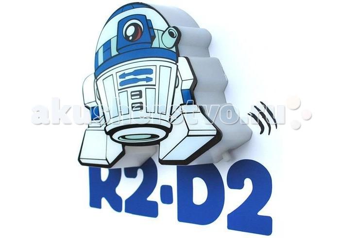 Светильник 3DlightFX Пробивной мини 3D StarWars (Звёздные Войны) R2-D2 (Артудиту)Пробивной мини 3D StarWars (Звёздные Войны) R2-D2 (Артудиту)Пробивной мини 3D светильник StarWars (Звёздные Войны) R2-D2 (Артудиту). Безопасный: без проводов, работает от батареек (2хААА, не входят в комплект); Не нагревается: всегда можно дотронуться до изделия; Реалистичный:3D наклейка в комплекте; Фантастический: выглядит превосходно в любое время суток; Удобный: простая установка (автоматическое выключение через полчаса непрерывной работы). Товар предназначен для детей старше 3 лет. ВНИМАНИЕ! Содержит мелкие детали, использовать под непосредственным наблюдением взрослых.   Особенности:   Размеры: 16.9 х 16 х 4.1 см Вес: 0,15 кг<br>