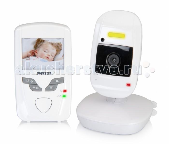 Switel Видеоняня BCF827Видеоняня BCF827Видеоняня Switel BCF827 оснащена всеми базовыми функциями, которые необходимы для обеспечения контроля за ребенком и обеспечения его ребенка.  Система автоматической активации при плаче сработает и оповестит родителей о том, что малыш расплакался. Система подавления помех обеспечивает надежную и стабильную связь между родительским и детским блоками видеоняни. Благодаря встроенной системе ночного видения, родители могут наблюдать за малышом даже при полном отсутствии освещения в детской комнате. Детский блоки видеоняни Switel BCF827 также оснащен встроенным ночником. Ночничок можно включить или выключить с помощью клавиш на родительском блоке видеоняни.  Особенности: Цифровая защищенная от помех связь. Дальность приема 250 метров. Отображение уровня связи на дисплее видеоняни. Ночник на детском блоке, которым можно управлять с родительского блока. Диагональ дисплея видеоняни составляет 6,1 см (2,4 дюйма). Активация при плаче (VOX) и с помощью нажатия на любую клавишу. Возможность настройки чувствительности системы VOX к громкости звука. Функция ночного видения. Настройка изображения. Система ECO mode (сохранение энергии и отсутствие излучения). Функция Zoom (приближение или отдаление изображения). Система подавления помех. Возможность крепления видеоняни на поясе. Цифровая регулировка громкости. Индикатор уровня заряда аккумулятора на родительском блоке. Регулируемая камера на детском блоке. Привлекательный дизайн.<br>