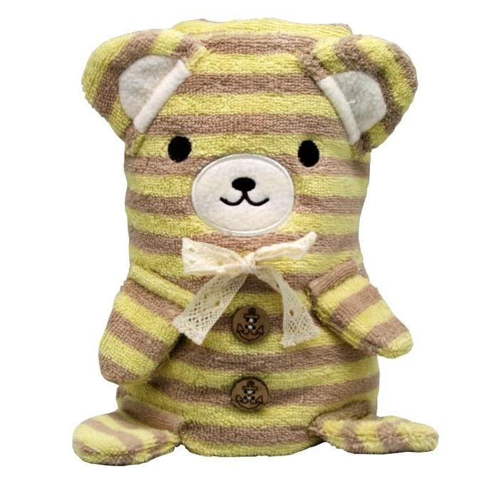Комфортеры Cool Toys Трансформер Полотенце-Игрушка Медвежонок 100 x 70 см, Комфортеры