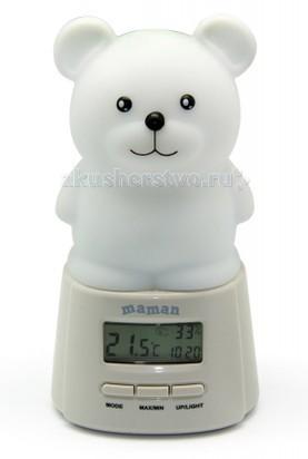 Maman Ночник c термогигрометром BL201