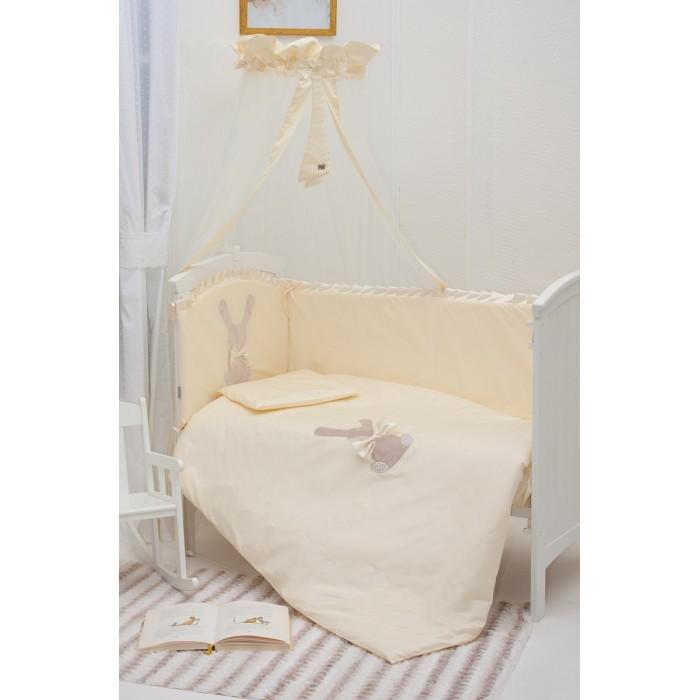 Постельные принадлежности , Комплекты в кроватку Makkaroni Kids Toy Rabbit 120х60 (6 предметов) арт: 23954 -  Комплекты в кроватку