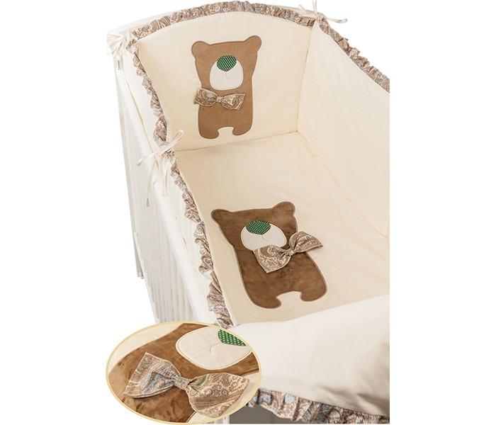 Постельные принадлежности , Комплекты в кроватку Makkaroni Kids Toy Teddy 120х60 (6 предметов) арт: 23956 -  Комплекты в кроватку