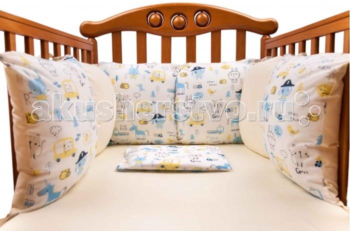 Бортики в кроватку Daisy Комплект подушек для бампера Пират 2 шт. бампера на приору в ростове