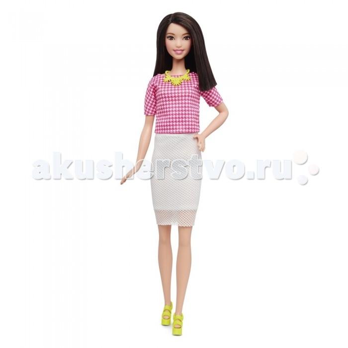 Куклы и одежда для кукол Barbie Кукла Барби Игра с модой шатенка в белой юбке куклы и одежда для кукол barbie кукла барби игра с модой блондинка в клетчатой юбке