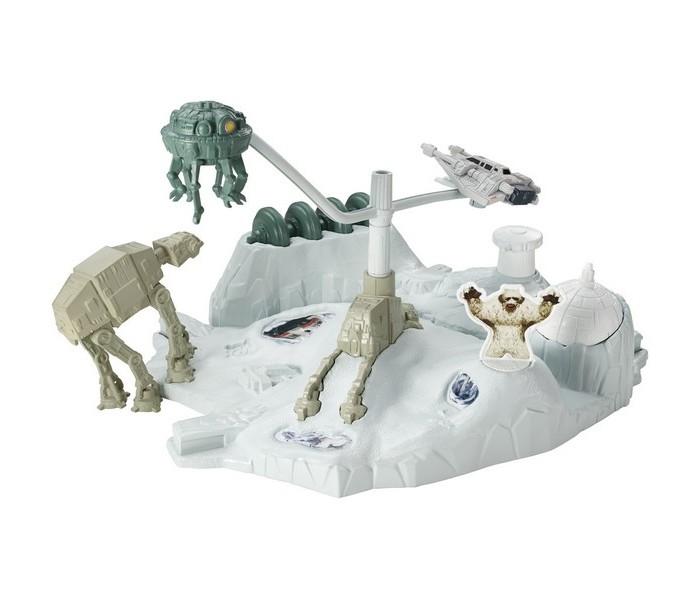 Игровые наборы Star Wars Игровой трек Битва за базу Эхо игровые наборы tomy игровой набор приключения трактора джонни и лошади на ферме