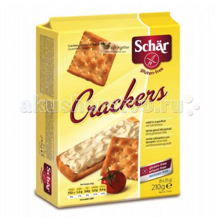 Печенье Schar Крекеры Crackers 210 г delser крекеры без соли