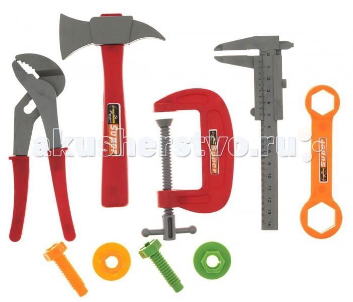 Ролевые игры 1 Toy Набор инструментов Ну погоди Т58340 (6 предметов) развивающая игрушка 1toy ну погоди 1toy ну погоди музыкальные инструменты в барабане