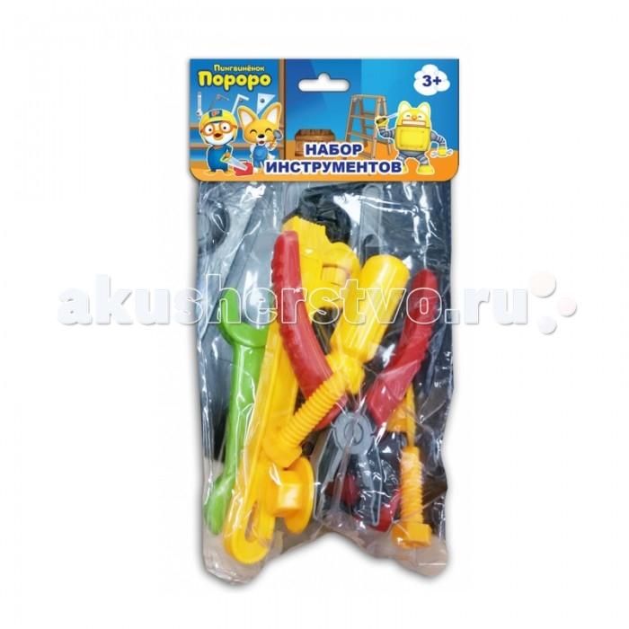 Ролевые игры 1 Toy Набор инструментов Пингвинёнок Пороро (10 предметов) ролевые игры 1 toy чайный сервиз пингвиненок пороро 11 предметов