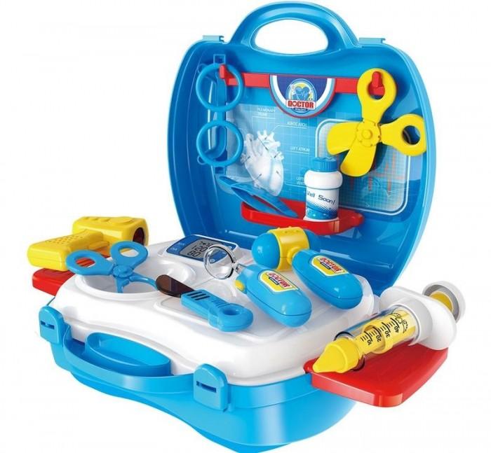 купить Ролевые игры 1 Toy Игровой набор в чемоданчике Профи доктор (18 предметов) по цене 680 рублей