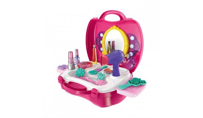 купить Ролевые игры 1 Toy Игровой набор в чемоданчике Профи стилист (21 предмет) по цене 630 рублей