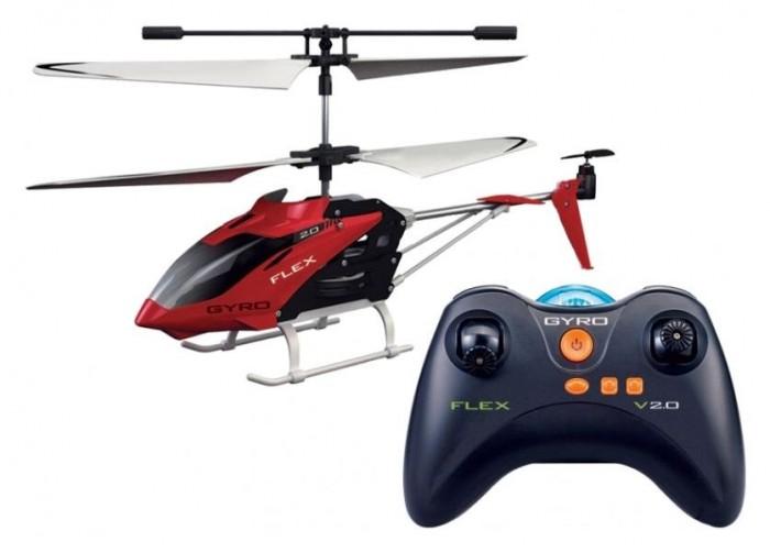 1 Toy Вертолет Gyro-FlexВертолет Gyro-Flex1 Toy Вертолет Gyro-Flex - это легкий и маневренный радиоуправляемый вертолетик со встроенными гироскопом.  Особенности: Вертолет обладает всеми качествами, чтобы заслужить любовь юного любителя машинок и другой техники.  Вертолетик оснащен встроенным литиевым аккумулятором на 150 мАч, емкости которого хватает на 7 минут непрерывного полета, а зяряжается он при этом около 1 часа по шине USB от персонального компьютера или электросети.  Пульт дистанционного управления действует на дистанции до 15 метров и питается от четырех стандартных батареек типа AA.  Он имеет форму, напоминающую геймпад игровой приставки, чрезвычайно удобен и оснащен отзывчивыми джойстиками для регулировки направления движения высоты полета вертолетика.  Дальность (откр. простр.): до 15 метров Датчик стабилизации полета: Да Электропитание: Работа от аккумулятора, до 7 минут Время зарядки аккумулятора: до 1 ч 10 мин Тип аккумулятора: Li-Polymer Емкость аккумулятора: 150 мАч Зарядка: от USB порта Тип батарей пульта ДУ: 4 x AA (LR6) Аккумулятор: встроенный Вес: 580 г<br>