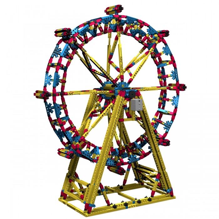 Конструктор Engino с мотором Mega Structures Лондонский Глаз 1718 деталейс мотором Mega Structures Лондонский Глаз 1718 деталейКонструктор с мотором Лондонский Глаз из серии Mega Structures обязательно заинтересует любителей игрушек, которые нужно собрать самому. Лондонский глаз - это огромное колесо обозрения, являющееся одним из самых высоких в мире. Играя с этим набором, ребенок соберет трехмерные сооружения, дополняющие его сюжетные игры или же модели сами станут главными персонажами игры. Яркий цвет и отличное качество деталей обязательно привлекут внимание не только ребенка, но и взрослых.  В комплекте:  Детали конструктора; Мотор; Чертежи; Инструкция.  Особенности:   Количество деталей: 1718 шт. Размер упаковки: 55 х 40 х 10 см Высота собранной модели: 90 см Вес в упаковке: 4.5 кг<br>