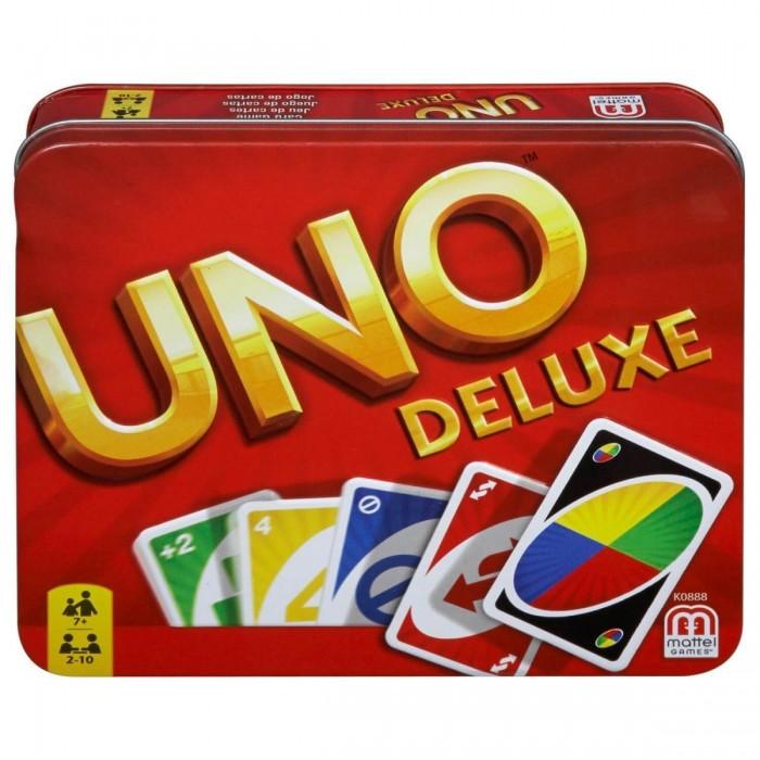 Mattel Настольная игра Уно - версия люкс