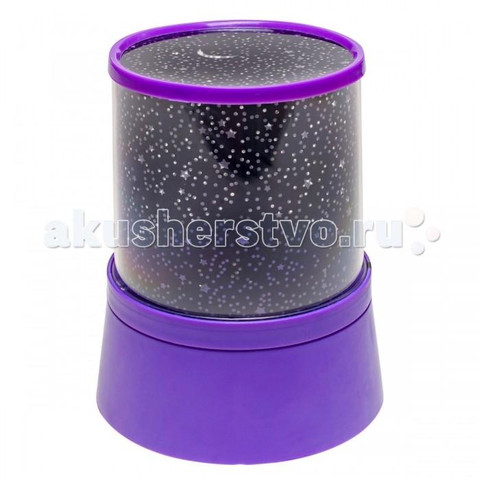 Ночники Family Fun Музыкальный ночник-проектор Звездное небо фиолетовый family fun ночник подушка жираф