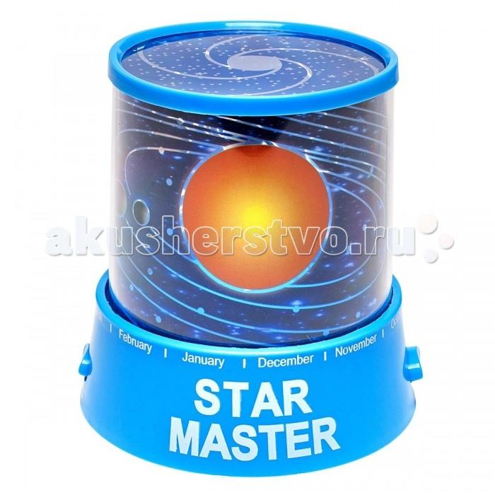Ночники Family Fun Ночник-проектор Звездное небо Вселенная голубой ночник bradex звездное небо