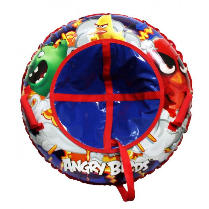 Тюбинг 1 Toy Angry Birds Надувные сани 85 смAngry Birds Надувные сани 85 смAngry Birds Тюбинг надувные сани 1toy  - великолепно подойдет для катания по снежным склонам, для веселого отдыха с друзьями и детьми.  Шины у тюбинга с красочным рисунком отлично подходят для увлекательного зимнего катания. Для удобства пользования, тюбинг имеет плотные ручки, тем самым предотвращая падения при спуске с крутых горок.   Тюбинг Angry Birds- надувные сани с резиновой автокамерой и глянцевым пвх чехлом , размер 85см, буксировочный трос  Материал глянцевый пвх 500 гр/кв.м.,  Диаметр 85 см<br>