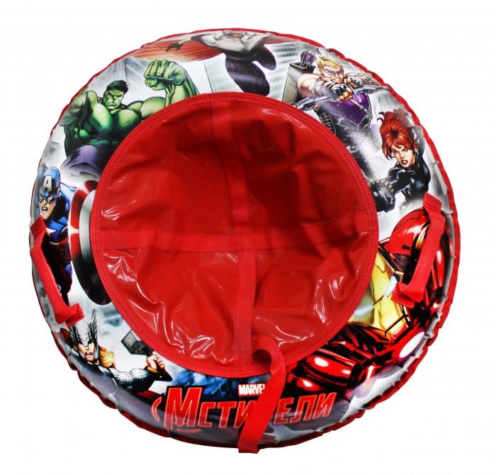 Зимние товары , Тюбинги Марвел (Marvel) Мстители Надувные сани 100 см арт: 240583 -  Тюбинги