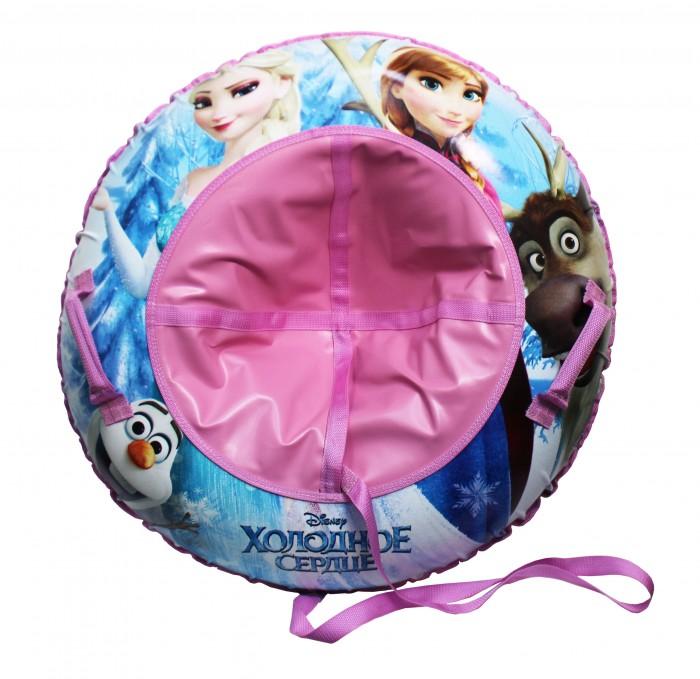 Тюбинг Disney Холодное сердце Надувные сани 85 смХолодное сердце Надувные сани 85 смDISNEY Холодное сердце Надувные сани   - великолепно подойдет для катания по снежным склонам, для веселого отдыха с друзьями и детьми.  Шины у тюбинга с красочным рисунком отлично подходят для увлекательного зимнего катания. Для удобства пользования, тюбинг имеет плотные ручки, тем самым предотвращая падения при спуске с крутых горок.   Тюбинг - надувные сани с резиновой автокамерой и глянцевым пвх чехлом , размер 85см, буксировочный трос  Материал глянцевый пвх 500 гр/кв.м.,<br>