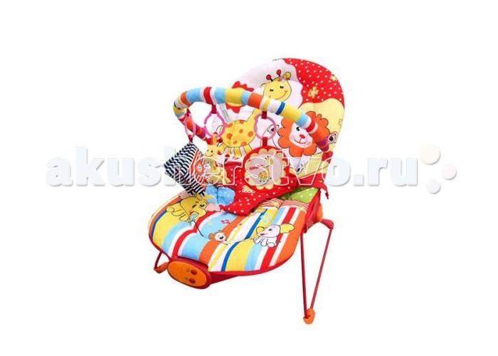 Жирафики Детское кресло-качалка Веселый зоопаркДетское кресло-качалка Веселый зоопаркЖирафики Детское кресло-качалка Веселый зоопарк    Особенности:   Вибрация, 10 мелодий, регулировка громкости звука.   Дуга с 3-мя развивающими игрушками: погремушка динозавр, шуршащая тканевая книжечка, зеркало.   3 позиции положения кресла.  3-х точечный ремень безопасности.  Ограничение по весу -до 9  Размеры 51х78х59 см.<br>