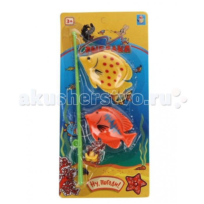 Игрушки для ванны 1 Toy Игрушка для ванны Ну Погоди игрушки для ванны tolo toys рыбки магнитные