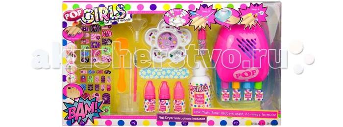 Гигиена и здоровье , Детская косметика Markwins Большой набор детской декоративной косметики для ногтей арт: 240880 -  Детская косметика
