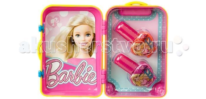 Markwins Набор детской декоративной косметики Barbie в розовом чемоданчике