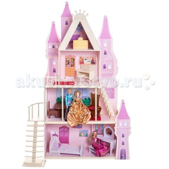 Paremo Домики для барби Розовый сапфирДомики для барби Розовый сапфирParemo Домики для барби Розовый сапфир - это сказочно-прекрасный домик для маленьких принцесс и их кукольных придворных. Представляет собой четырехэтажный домик с резными фасадами, частично открытый для комфортной и разноплановой игры.   О таком кукольном доме действительно мечтает каждая девочка, поскольку выполнен он в ярком дизайне и украшен стильными интерьерными аксессуарами. Этот дворец, безусловно, станет местом, в которое кукольной семье захочется возвращаться снова и снова. Нестандартно контрастная яркая расцветка кукольного домика делает его универсальной сюжетной игрушкой для самых юных модниц.  Особенности: игрушка 100% деревянная, ни одного пластикового элемента в каркасе и мебели глухая задняя стенка, монолитная крыша, боковые стены с окнами и полностью открытая лицевая часть домика для беспрепятственного доступа к любым игровым зонам каркас домика для кукол насыщенно-голубой набор отличает большое количество аксессуаров с максимальной детализацией. Все элементы разработаны специально для формата Барби игрушка требует сборки (подробная схема сборки и крепежные детали прилагаются)  Сюжетно-ролевая игра способствует развитию фантазии и воображения, творческого и логического мышления, речи и навыков общения. Это увлекательное занятие развивает чувство ответственности, помогает ребенку почувствовать себя взрослым и самостоятельным. В процессе игры вырабатываются ловкость и слаженность движений рук, мелкая моторика и координация.  В комплекте: домик 16 предметов мебели  интерьерные наклейки  текстиль  инструкция по сборке  гарантийный сертификат<br>