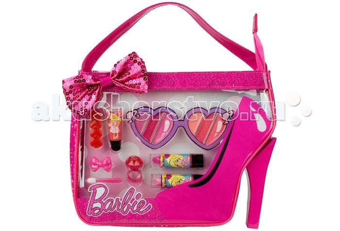 Гигиена и здоровье , Детская косметика Markwins Набор детской декоративной косметики Barbie в сумочке арт: 241045 -  Детская косметика