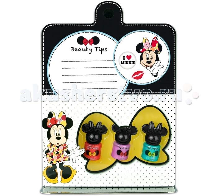 Детская косметика Markwins Набор детской декоративной косметики Minnie для ногтей