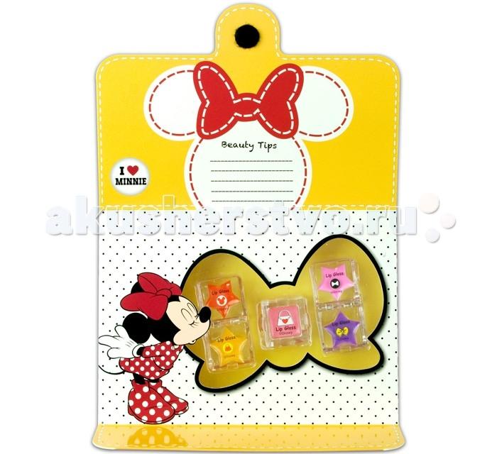 Детская косметика Markwins Набор детской декоративной косметики Minnie для губ markwins набор детской декоративной косметики для ногтей minnie mouse