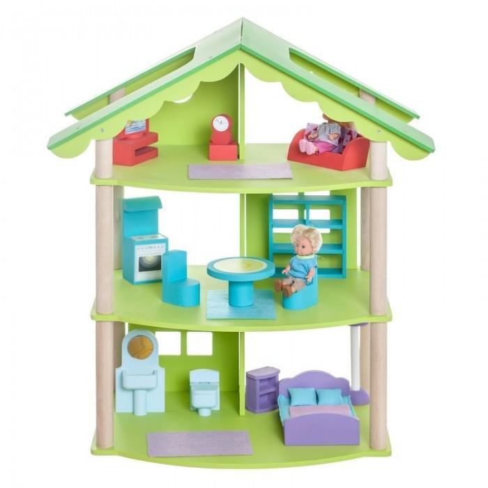 Paremo Домики для мини-кукол ФиоленДомики для мини-кукол ФиоленParemo Домики для мини-кукол Фиолент  - деревянный домик, созданный по мотивам поражающего воображение красотой Мыса Фиолент. Такая игрушка понравится и девочкам, и мальчикам.  О таком кукольном доме действительно мечтает каждая девочка, поскольку выполнен он в ярком дизайне и украшен стильными интерьерными аксессуарами. Этот дворец, безусловно, станет местом, в которое кукольной семье захочется возвращаться снова и снова. Нестандартно контрастная яркая расцветка кукольного домика делает его универсальной сюжетной игрушкой для самых юных модниц.  Особенности: игрушка 100% деревянная, ни одного пластикового элемента в каркасе и мебели относится к типу открытых домиков (свободный доступ ко всем помещениям для удобства игры) в домике 3 этажа, 4 комнаты:  - на первом этаже – ванная комната и кукольная спальня  - на втором этаже – кухня-столовая  - на третьем этаже – гостиная  Сюжетно-ролевая игра способствует развитию фантазии и воображения, творческого и логического мышления, речи и навыков общения. Это увлекательное занятие развивает чувство ответственности, помогает ребенку почувствовать себя взрослым и самостоятельным. В процессе игры вырабатываются ловкость и слаженность движений рук, мелкая моторика и координация.  В комплекте: домик 15 предметов кукольной мебели инструкция по сборке  - гарантийный сертификат  Куклы, домашние питомцы и текстиль в комплект не входят.<br>